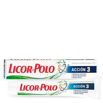 Licor del Polo Dentrífrico Acción 3 75 ml