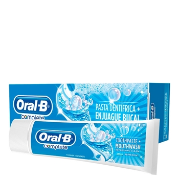 Oral-B Complete Pasa Dentífrica + Enjuague Bucal 75 ml
