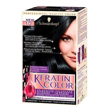 Keratin Color Nº 1.0 Negro de KERATIN COLOR