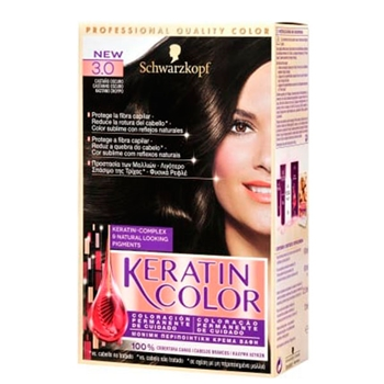 Keratin Color Nº 3.0 Castaño Oscuro de KERATIN COLOR