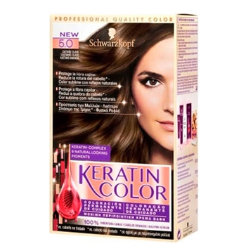 KERATIN COLOR Keratin Color Nº 5.0 Castaño Claro