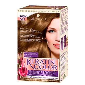 Keratin Color Nº 6.0 Rubio Oscuro de KERATIN COLOR