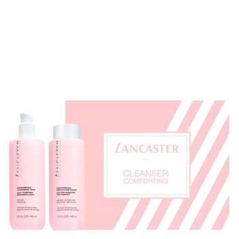 LANCASTER Comforting Cleansing Milk Estuche 400 ml + Comforting Perfecting Toner 400 ml
