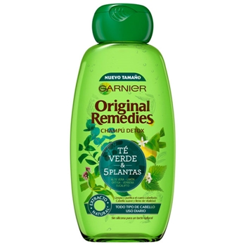 Original Remedies Té Verde & 5 Plantas Champú Detox 300 ml