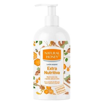 Natural Honey Extra Nutritiva Loción Dosificador 400 ml