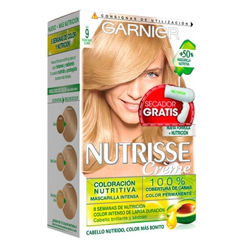 Nutrisse Crème Nº 09 Rubio Muy Claro Estuche de Nutrisse