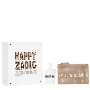 Zadig & Voltaire This is Her! Estuche 50 ml Vaporizador + Pouch