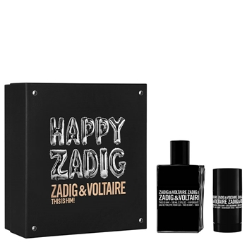 Zadig & Voltaire This is Him! Estuche 100 ml Vaporizador + Desodorante Spray 75 ml