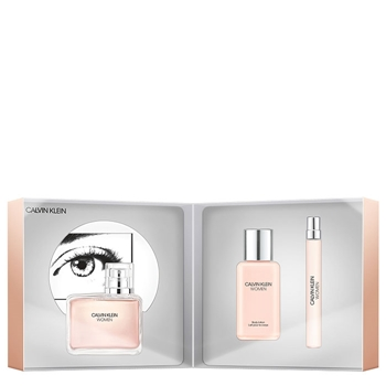 Calvin Klein WOMEN Estuche 100 ml Vaporizador + Body Lotion 100 ml + 10 ml Vaporizador