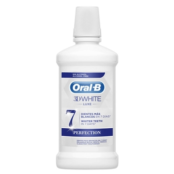 Oral-B 3D White Luxe Perfection Enjuague Bucal 500 ml