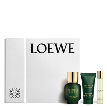 LOEWE ESENCIA LOEWE Estuche 100 ml Vaporizador + Bálsamo After Shave 50 ml + 20 ml Vaporizador