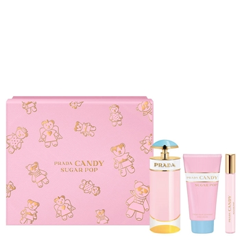 Prada Candy Sugar Pop Estuche 80 ml Vaporizador + Body Lotion 75 ml + Roll-On 10 ml