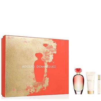 Adolfo Domínguez Unica Coral Estuche 100 ml Vaporizador + Body Lotion 75 ml + Miniatura 10 ml