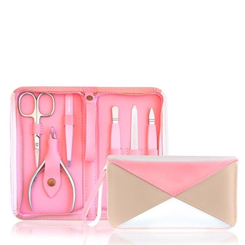Beter Kit Manicura Nude Simetrics Collection 6 Accesorios + Estuche