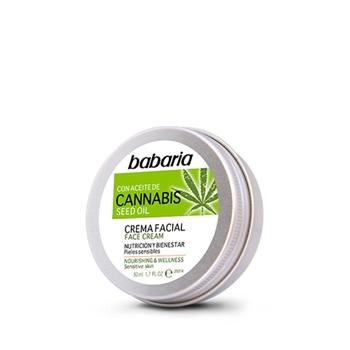 Babaria Crema Facial con Aceite de Cannabis 50 ml