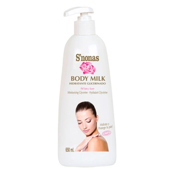 S'Nonas Body Milk Hidratante Glicerinado 650 ml