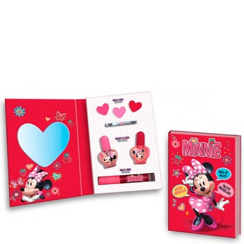 Minnie Mouse Agenda de Maquillaje Minnie 7 Productos