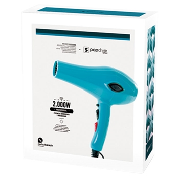 Secador de Pelo Pop Dryer Azul de Perfect Beauty