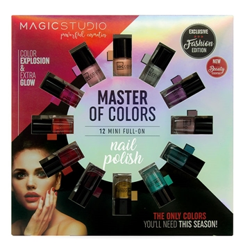 GUYLOND Master of Color Nail Polish 12 Colores