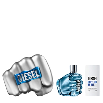 Diesel ONLY THE BRAVE Estuche 125 ml Vaporizador + Desodorante Stick 75 ml