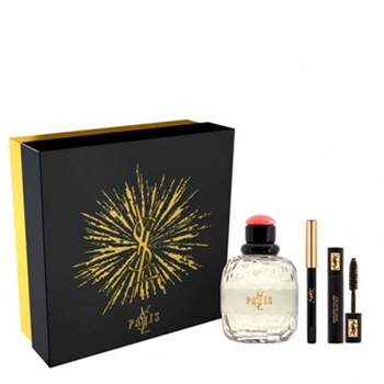 Yves Saint Laurent PARIS EDT Estuche 125 ml Vaporizador + 2 Productos de Regalo