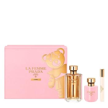 Prada La Femme L'Eau Estuche 100 ml Vaporizador + Body Lotion 100 ml + Roll On 10 ml