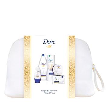 DOVE Dove Gel de Baño Hidratación Profunda Estuche 540 ml + Body 400 ml + Deo Roll on 50 ml + Jabón 2x 100 + Crema 75 ml