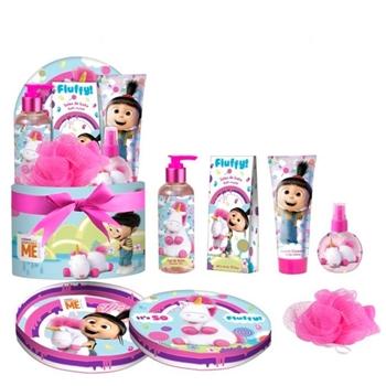 Minions Cofre de Baño Fluffy 5 Productos