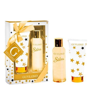 GUYLOND Set de Baño Stars Gel de Ducha 150 ml + Body Lotion 100 ml