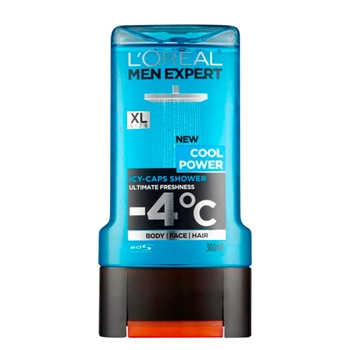 Gel de Ducha Cool Power de L'Oréal Men Expert