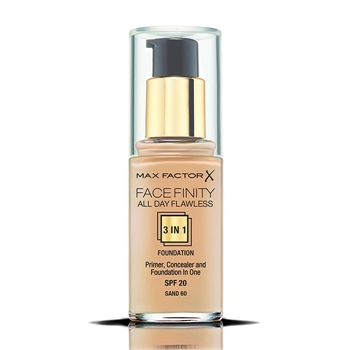 Max Factor Face Finity All Day Flawless 3 in 1 Foundation Nº 60 Sand