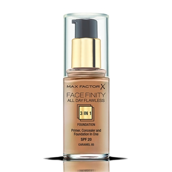 Max Factor Face Finity All Day Flawless 3 in 1 Foundation Nº 85 Caramel