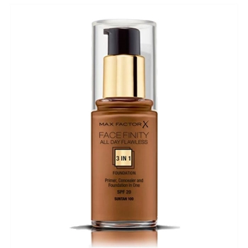 Max Factor Face Finity All Day Flawless 3 in 1 Foundation Nº 100 Suntan