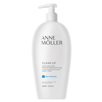 Anne Möller Clean Up Fluido Desmaquillante Cara y Ojos 400 ml