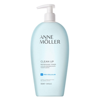 Anne Möller Clean Up Loción Refrescante Tonificante 400 ml