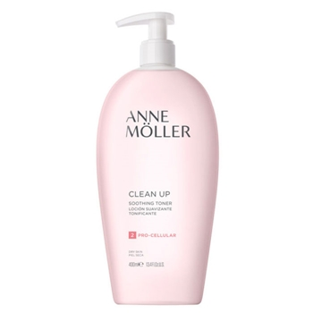 Anne Möller Clean Up Loción Suavizante Tonificante 400 ml