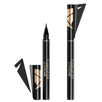 L'Oréal Superliner Flash Cat Eye Eyeliner Negro