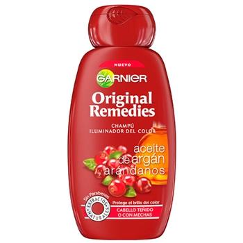 Original Remedies Aceite de Argán y Arándanos Champú Iluminador del Color 300 ml