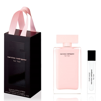 Narciso Rodríguez FOR HER Estuche 100 ml Vaporizador + Pure Musc EDP 10 ml