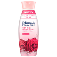 Gel de Ducha Vita-Rich Rosas de Johnson's