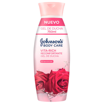 Johnson's Gel de Ducha Vita-Rich Rosas 750 ml