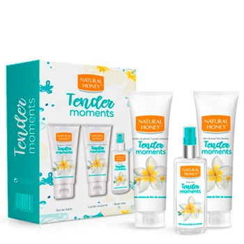 Natural Honey Tender Moments Estuche Gel de Ducha 200 ml + Loción Corporal 200 ml + Body Mist 100 ml