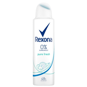 Rexona Pure Fresh 0% Sales Aliminio en Spray 150 ml