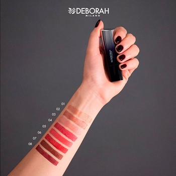 "Milano Red Metal Lipstick ""Limited Edition"" de DEBORAH"