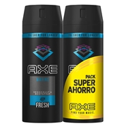 Desodorante Body Spray Marine Duplo de AXE