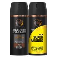Desodorante Body Spray Dark Temptation Duplo de AXE