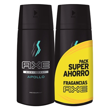 AXE Desodorante Body Spray Apollo Duplo 150 ml + 150 ml