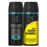 Desodorante Body Spray Apollo Duplo de AXE