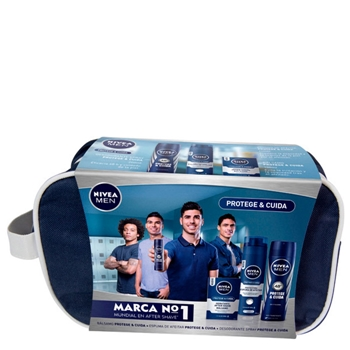 NIVEA MEN Protege & Cuida After Shave Bálsamo Estuche 4 Productos