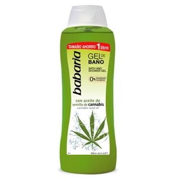 Gel de Baño con Aceite de Semillas de Cannabis de Babaria